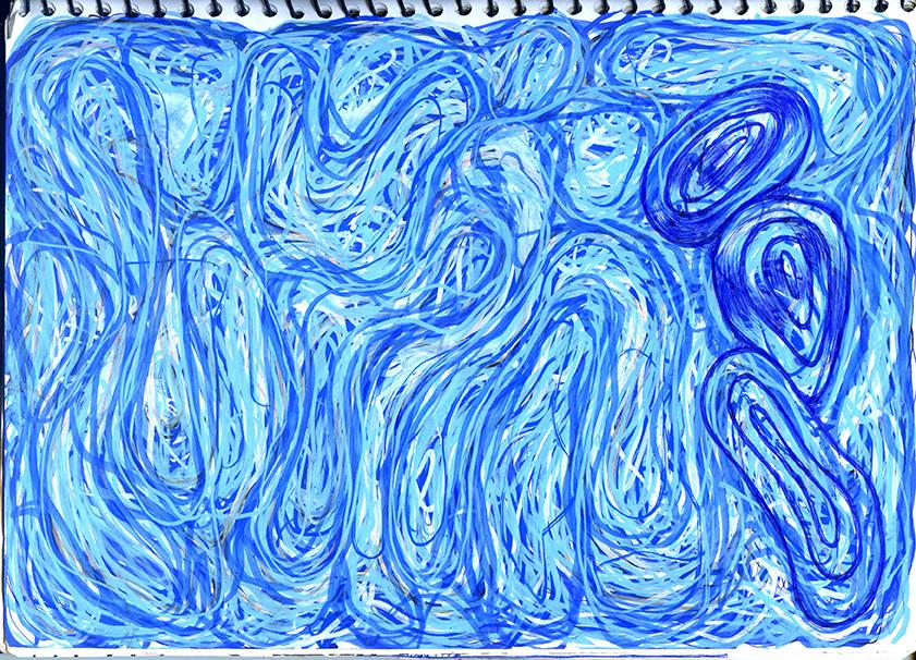 flow inktober samserif